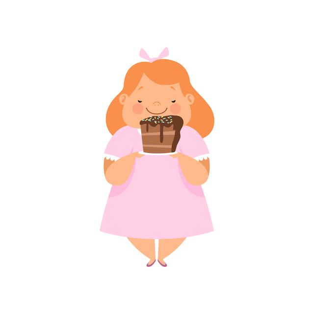 幼稚園の娘のダイエット