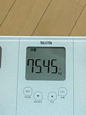 エア縄跳びダイエット 体重